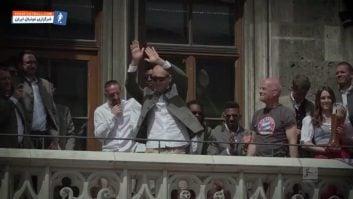 وداع روبن ، ریبری و رافینیا با هواداران بایرن مونیخ در خلال جشن قهرمانی