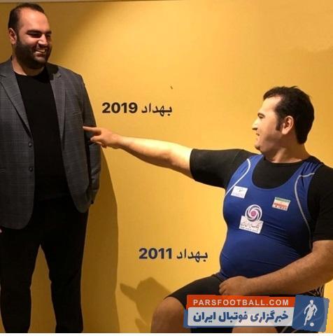 بهداد سلیمی قهرمان سابق وزنه برداری جهان به قرار گرفتن مجسمه خود در موزه ورزش واکنش نشان داد بهداد سلیمی گفت: از گردن به پایین شبیه من است!