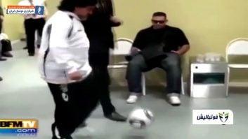 حرکات فری استایلری از دیگو مارادونا