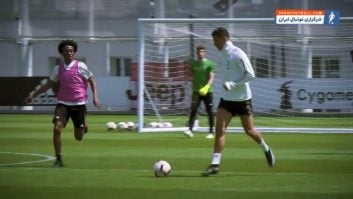 یوونتوس ؛ تمرین ستاره های باشگاه فوتبال یوونتوس قبل از دیدار حساس برابر آ اس رم