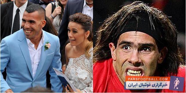 فوتبال ؛ تصاویری از فوتبالیست های مطرح در کنار همسرشان ؛ خبرگزاری پارس فوتبال