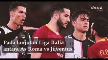 حرکت زننده رونالدو برابر فلورنزی کاپیتان رم در جریان بازی
