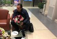 ورود بامدادی مارک ویلموتس ، سرمربی بلژیکی تیم ملی به ایران