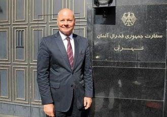 پرسپولیس ؛ تبریک کسب دوگانه داخلی پرسپولیس از سوی سفیر کشور آلمان در تهران