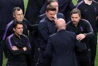 پوچتینو دیشب بعد از شکست تیمش در فینال چمپیونزلیگ در مقابل دوربینها خود را کنترل کرده بود پوچتینو در لحظه بالا بردن جام توسط لیورپولیها زیر گریه زد.