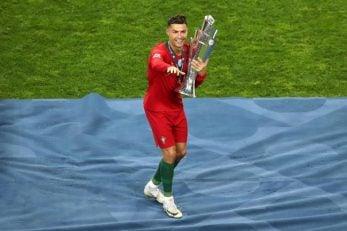 کریستیانو رونالدو دیشب بعد از بالای سر بردن جام قهرمانی لیگ ملتهای یوفا رونالدو به عنوان کاپیتان پرتغال با رادیو SER گفتگویی اختصاصی انجام داد.