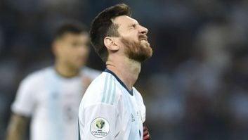 عملکرد لیونل مسی در دیدار آرژانتین برابر ونزوئلا کوپا آمه ریکا 2019