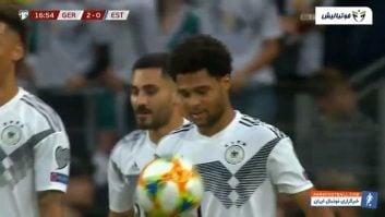آلمان ؛ خلاصه بازی آلمان 8- 0 استونی مقدماتی رقابت های یورو 2020