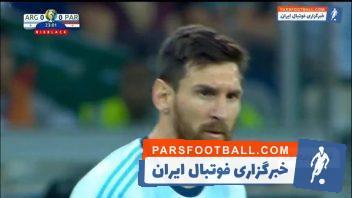 خلاصه بازی آرژانتین 1-1 پاراگوئه کوپا آمه ریکای 2019