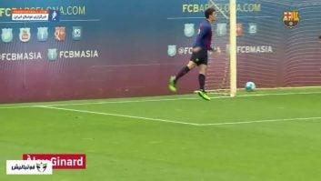 بارسلونا ؛ گل های فوق العاده از بازیکنان آکادمی لاماسیا 2018/2019