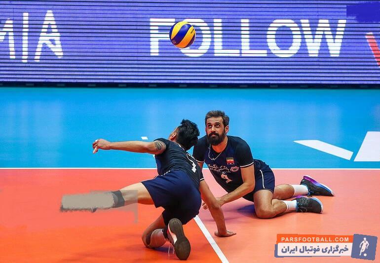تصویری شکار شده از سعید معروف را مقابل تیم ملی والیبال لهستان می بینید سعید معروف کاپیتان تیم ملی والیبال ایران در این دوره از رقابت ها نیز خوش درخشیده است.