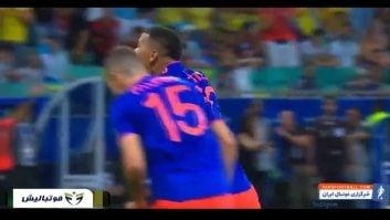 خلاصه بازی آرژانتین 0-2 کلمبیا مرحله گروهی کوپا آمریکا 2019