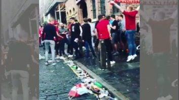 وشعیت بد خیابان های لیورپول پس از فینال لیگ قهرمانان اروپا