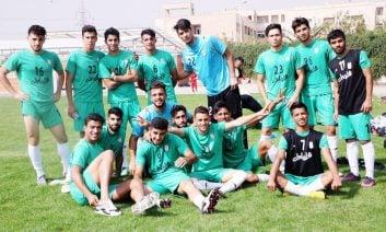 بهزاد نوشادی تیم امید - تیم فوتبال امید - تیم ملی امید