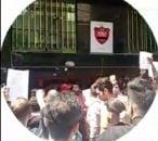 تجمع هواداران خشمگین مقابل باشگاه پرسپولیس پس از جدایی برانکو