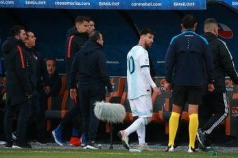 عملکرد لیونل مسی فوق ستاره تیم ملی آرژانتین در دیدار برابر شیلی