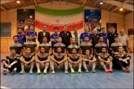 مارک ویلموتس در تمرین تیم ملی فوتسال حاضر شد مارک ویلموتس در پایان هم با بازیکنان تیم ملی فوتسال عکس یادگاری گرفت.