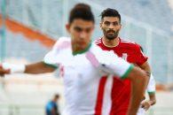سعید آقایی در ترکیب تیم ایران به میدان رفت و در بیشتر دقایق با مهاجم جوانی درگیر بود که قرار است در لیگ امسال یکی از استعدادهای پرسپولیس باشد.
