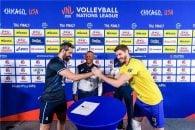 ایران ؛ شکست تیم ملی والیبال ایران برابر برزیل در لیگ ملت های والیبال