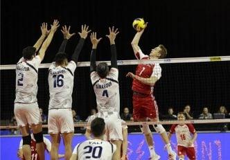 والیبال ؛ همه گروهی تیم ملی با برزیل و لهستان در لیگ ملت های والیبال