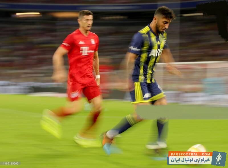 اللهیار صیادمنش در مقابل تیم های بزرگ اروپایی حضور یافت. اللهیار صیادمنش از استقلال با قراردادی 5 ساله راهی فنرباغچه ترکیه شد.