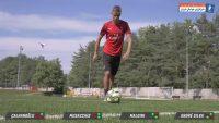 میلان ؛ چالش انداختن توپ به داخل چمدان از ستاره های باشگاه فوتبال آث میلان