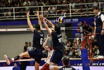 ایران ؛ شکست تیم ملی والیبال برابر لهستان در لیگ ملت های 2019