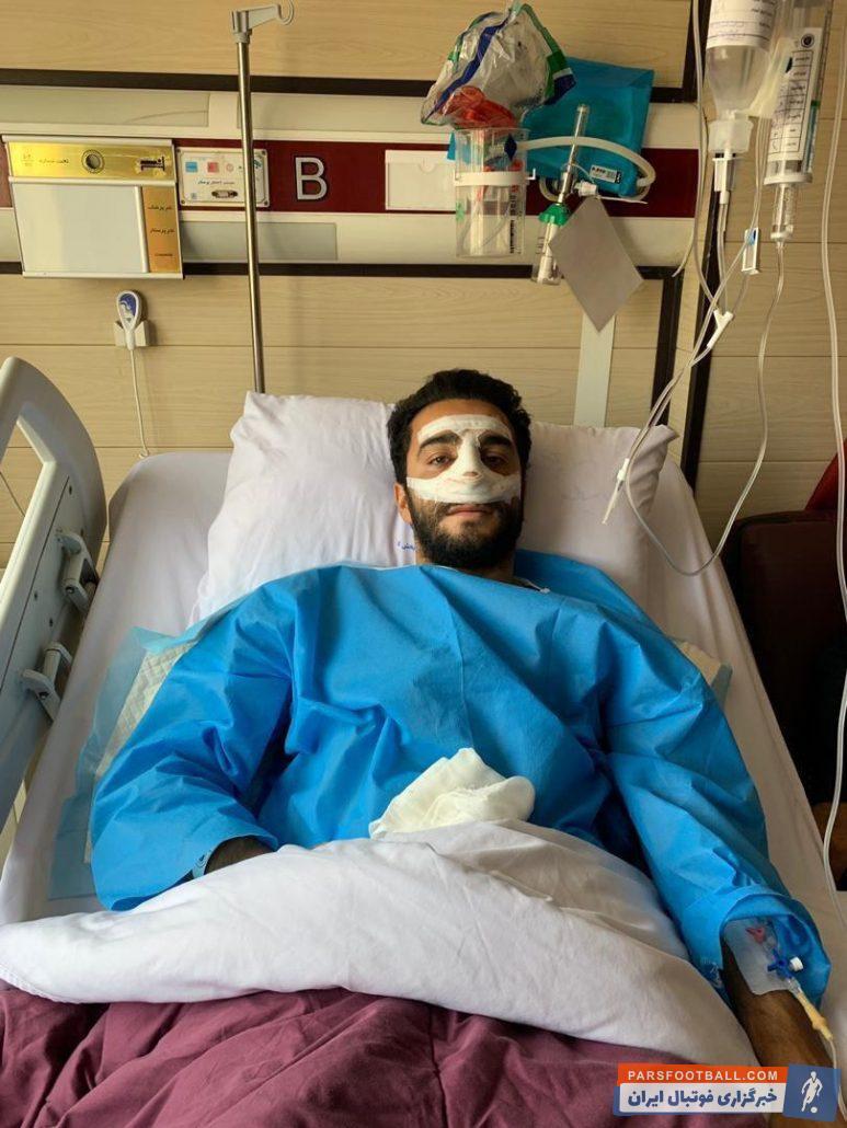 سیامک نعمتی سیامک نعمتی در اردوی ترکیه این تیم در پی برخوردی که با بازیکن همتیمی خود داشت از ناحیه بینی دچار آسیبدیدگی شد و مشخص شد باید جراحی انجام دهد.
