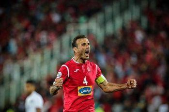 کالدرون : کاپیتان نخست تیم فوتبال پرسپولیس سید جلال حسینی است