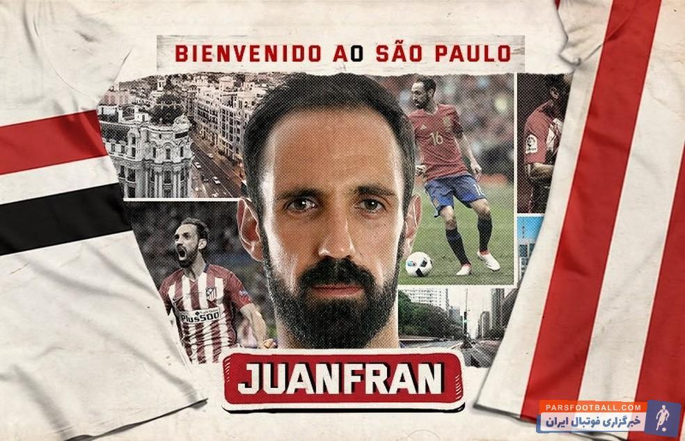 خوانفران به صورت رسمی به سائوپائولوی برزیل پیوست تا خوانفران بعد از دنی آلوس، دومین ستاره شاغل در اروپا باشد که اخیراً به این تیم برزیلی ملحق شده است.