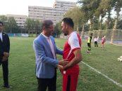 محمد قاضی فصل قبل را با پیراهن پیکان در فوتبال ایران حضور داشت محمد قاضی این روزها و پس از عقد قرارداد با تیم نساجی مازندران با این تیم به تمرین می پردازد.