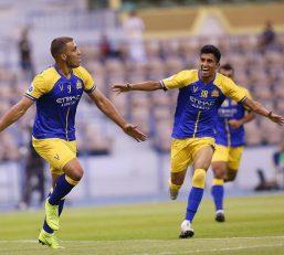 شب گذشته تیم فوتبال النصر عربستان برابر الوحده امارات به تساوی ۱-۱ رسید، تک گل النصری ها در این بازی را عبدالرزاق حمدالله مهاجم مراکشی این تیم به ثمر رساند.