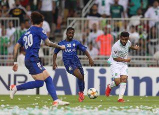 الاهلی ؛ شکست سنگین الاهلی برابر الهلال در لیگ قهرمانان آسیا 2019