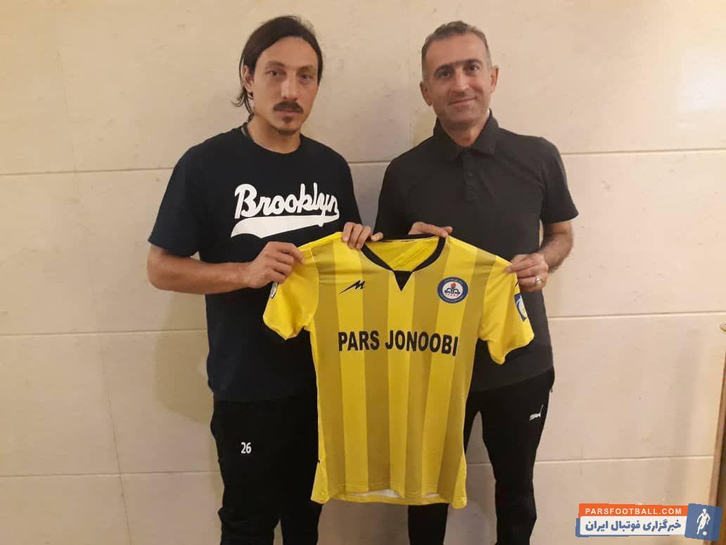 کاخابر کاکاشویلی هافبک ۲۶ ساله اهل گرجستان بعد از توافق با مدیران باشگاه پارس جنوبی قرارداد یکساله ای را با این باشگاه به امضا رساند.