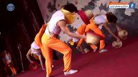 گشت و گذار ستاره های باشگاه فوتبال پاری سن ژرمن در کشور چین