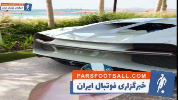 بوگاتی خاص با طراحی ویژه برای هرمس مانی خوشبین میلیاردر ایرانی - آمریکایی