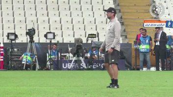 لیورپول ؛ تمرین ستاره های باشگاه لیورپول قبل از دیدار حساس برابر چلسی در سوپرکاپ اروپا