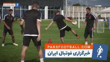 یوونتوس ؛ تمرین باشگاه فوتبال یوونتوس ایتالیا در حضور ستاره های جدید
