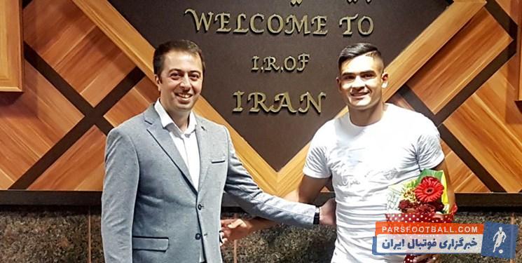 ورود براندائو جونیور به تهران برای شرکت در تست پزشکی پرسپولیس