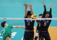والیبال ؛ هشت تیم صعود کننده به مرحله یکچهارم نهایی والیبال پسران زیر 19 سال مشخص شد