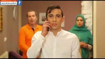 ایفای نقش فرشاد احمدزاده در سریال «در کنار هم ۲»