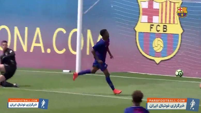 فاتی ؛ برترین گل ها و مهارت های آنسو فاتی در باشگاه بارسلونا ؛ خبرگزاری پارس فوتبال