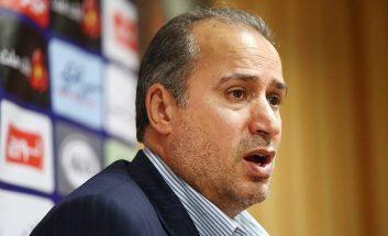 تاج خطاب به خبرنگاران : اگر سوال بیربطی را بپرسید که ارتباطی به فوتبال ندارد محروم می شوید