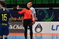گلاره ؛ گلاره ناظمی داور دیدار بوکاجونیورز و چونبوری تایلند در جام باشگاههای جهان