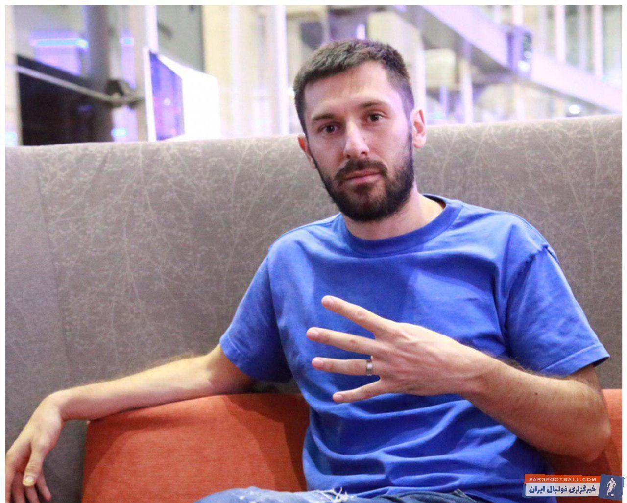حضور میلیچ در تهران برای حضور در تست پزشکی استقلال
