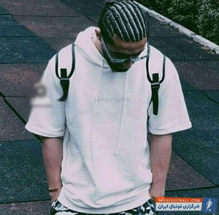صیادمنش ؛ تصویری از مدل موی بافت آفریقایی از الهیار صیادمنش ؛ خبرگزاری پارس فوتبال
