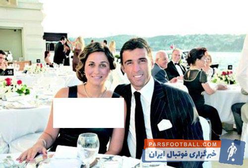 تصویری از همسر هاکان با حجاب اسلامی