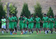 تمرین تیم استقلال برای آمادهسازی دیدار با نفت مسجدسلیمان از ساعت ۱۸:۱۵ دیروز (پنجشنبه) در مجموعه ورزشی انقلاب برگزار شد.