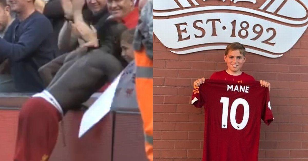 سادیو مانه ستاره سنگالی لیورپول موفق به ثبت دو گل در این بازی شده بود سادیو مانه پیراهن خود را به یک کودک خردسال اهدا کرد.