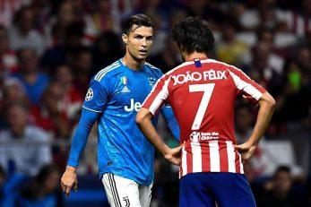 فلیکس و رونالدو با هم رو به رو شدند ژائو فلیکس و کریستیانو رونالدو ، دو پرتغالی حاضر در اتلتیکو مادرید و یوونتوس امید اصلی آنها برای درخشش بودند.